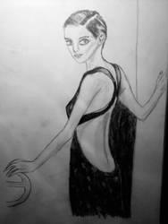 Little Black Dress by Froggy-Spaztastic