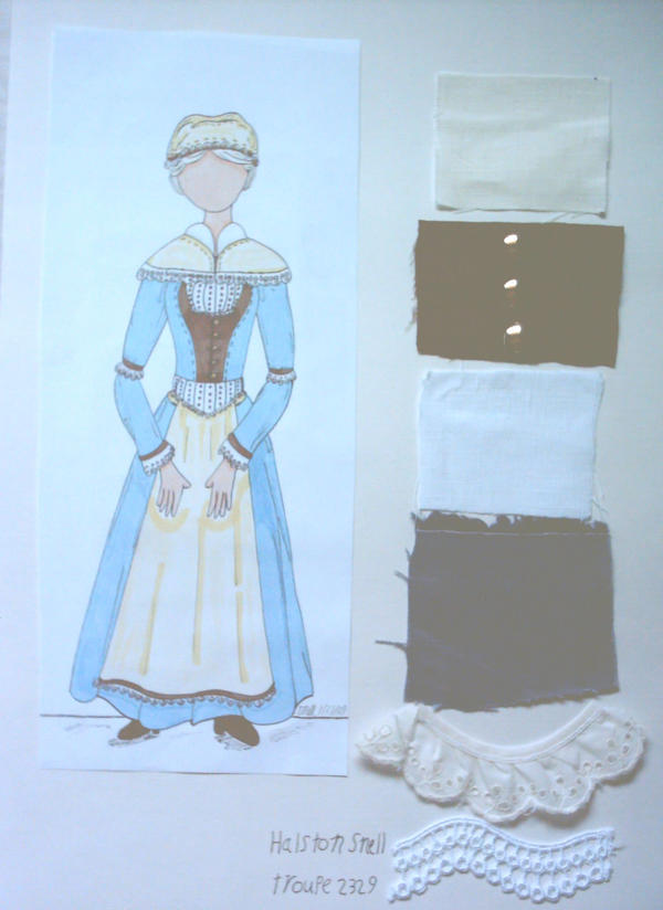 Mary Warren Costume Design by Froggy-Spaztastic