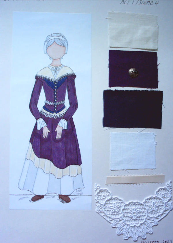 Rebecca Nurse Costume Design by Froggy-Spaztastic