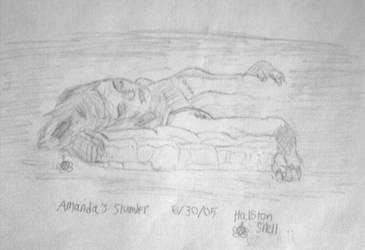 Amanda's Slumber by Froggy-Spaztastic