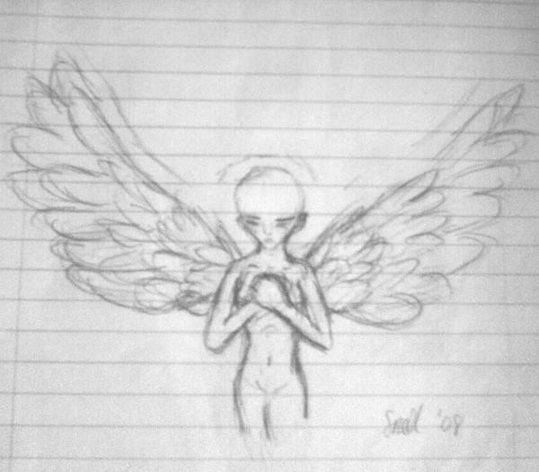 Angel of Sketches by Froggy-Spaztastic