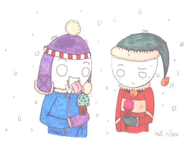 Frozen Treats by Froggy-Spaztastic