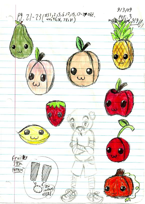 Fruits de Jouets-The Doodles by Froggy-Spaztastic