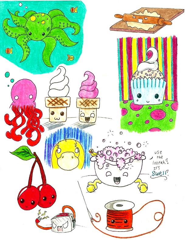 Art Dump of...Stuff by Froggy-Spaztastic