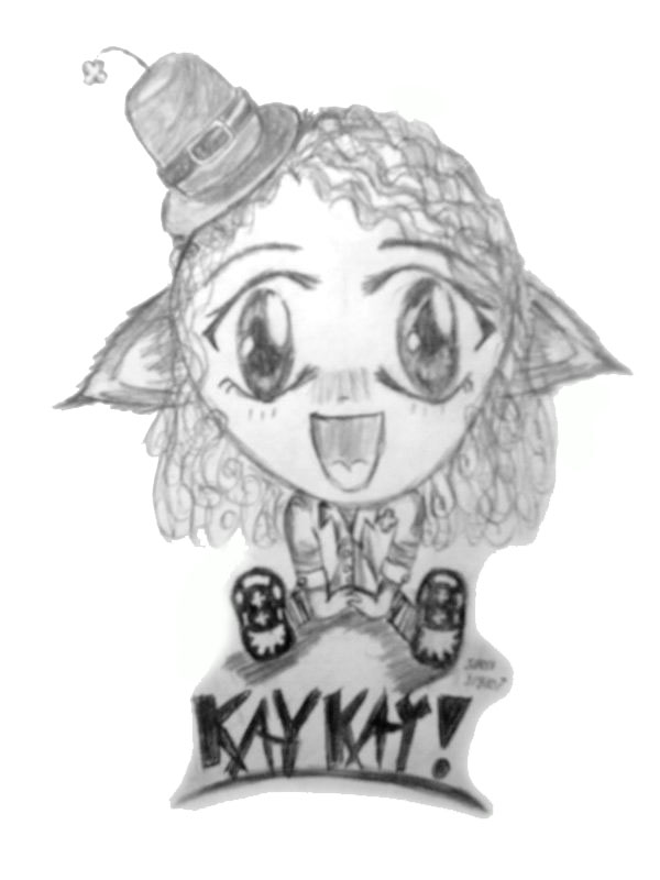 Chibi Kaykay by Froggy-Spaztastic