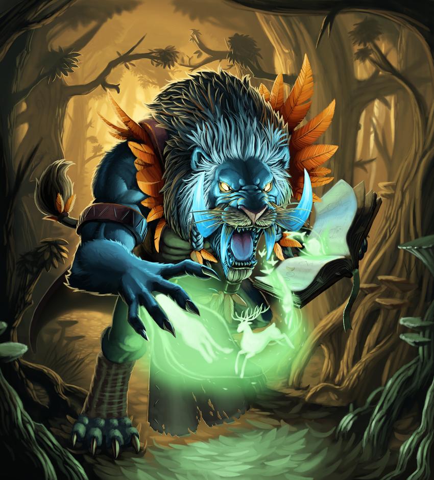 Keeper of the bestial spirits by Mick-o-Maikeru