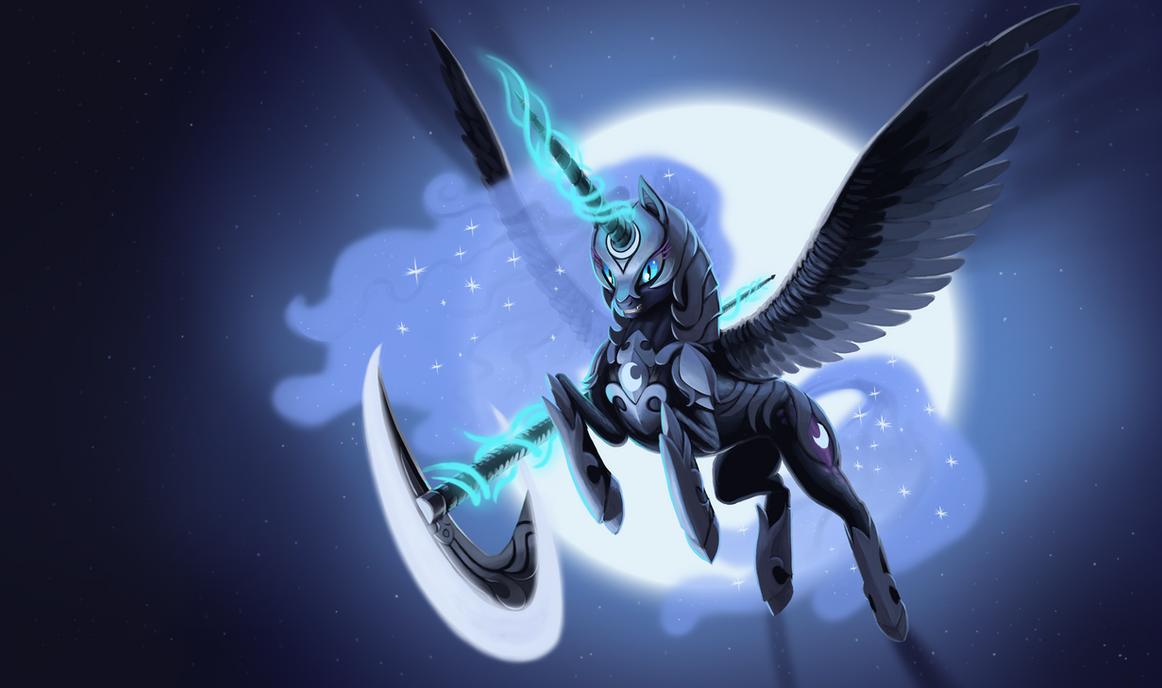 Warrior of the Eternal Night by Mick-o-Maikeru
