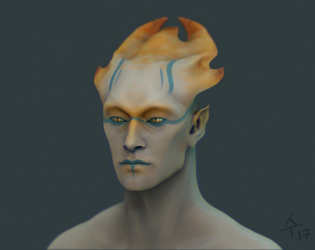 Alien boy by Sudjino