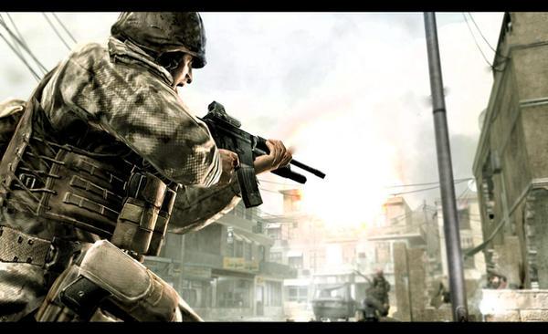 HD Call of Duty 4 wallpaper