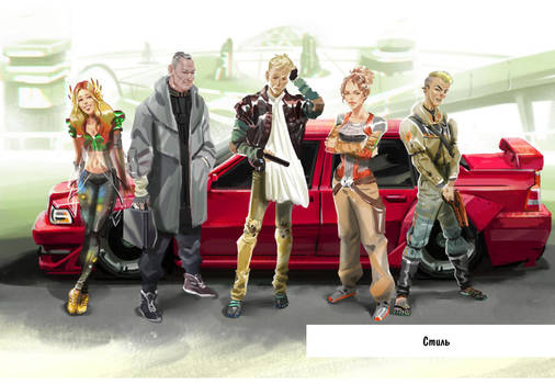 RCBG characters