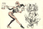 Manga Harley Quinn by nerresta