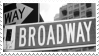 Broadway Stamp by Creepypastafan100