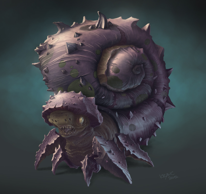 Zerg Snail by Bagetto