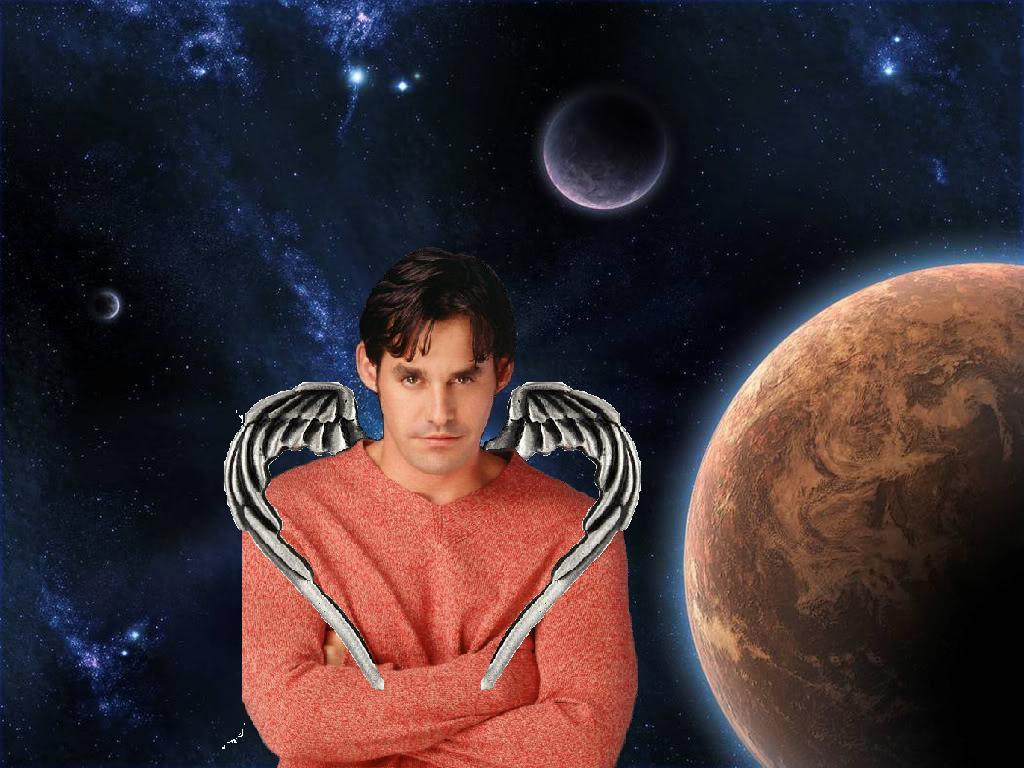 medium winged Xander in space