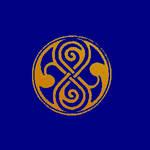 Rassilon's mark - Blue/Orange by Genuka