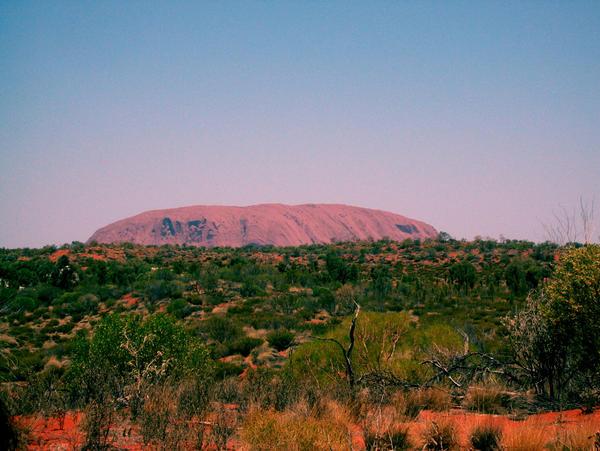 Floating Uluru