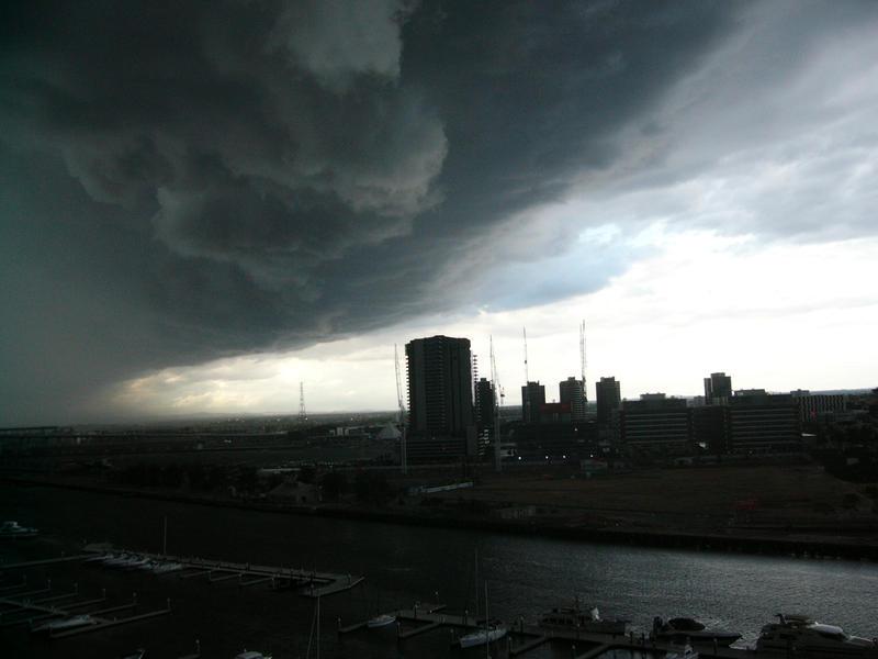 Storm At Docklands