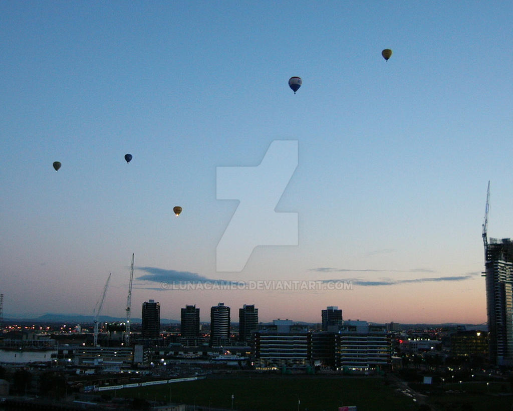 Melbourne Balloon Sunrise