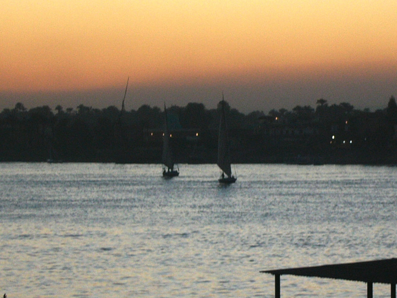 Double Nile Sunset