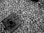 Pebbles and Ashtray