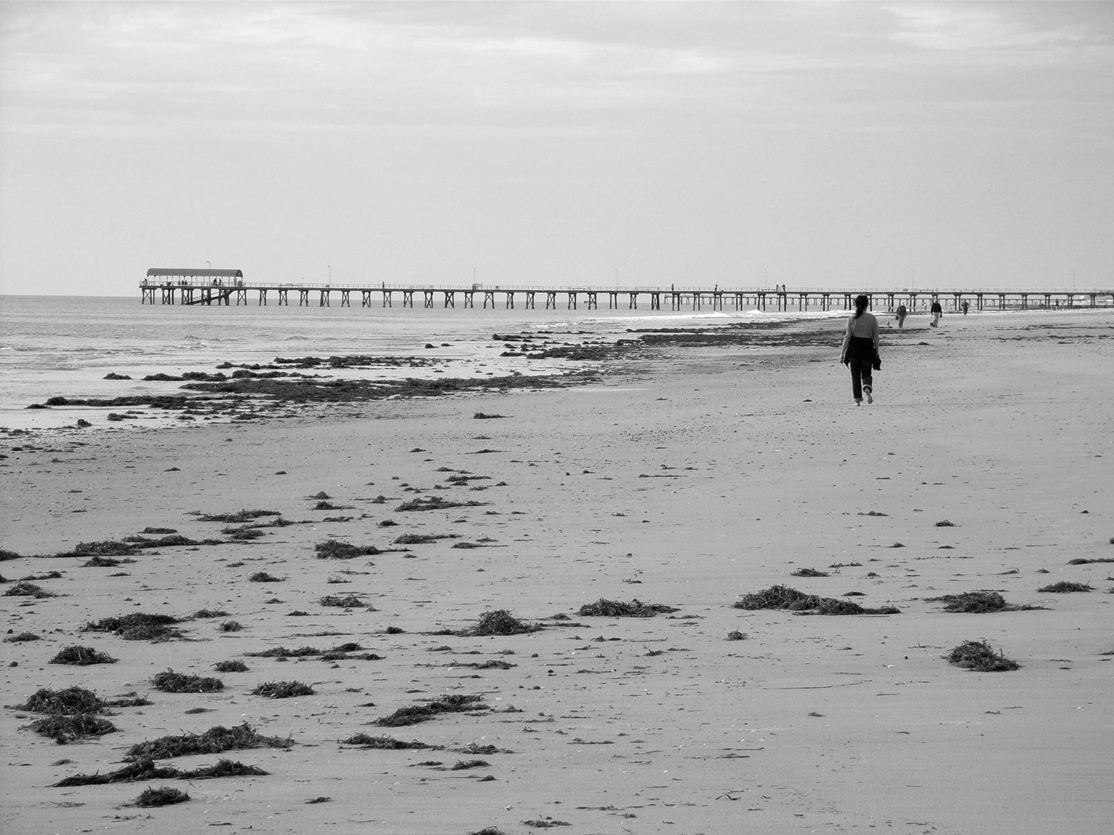 Walking To The Jetty