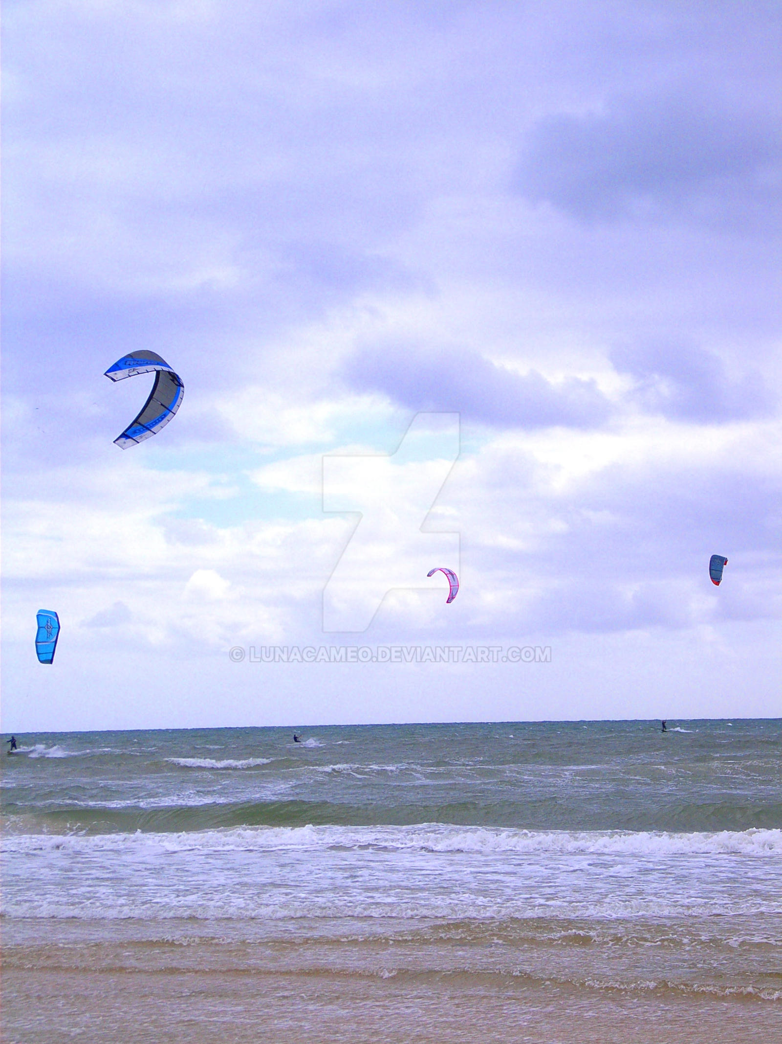 Kiteboarding at Henley Beach