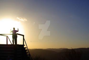 Arkaroola Silhouette