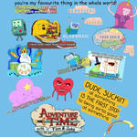 Adventure Time Inspiration Collage