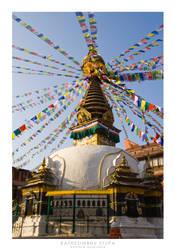 Kathesimbhu Stupa by mortimea
