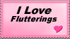 Support Flutterings by FearedSavior