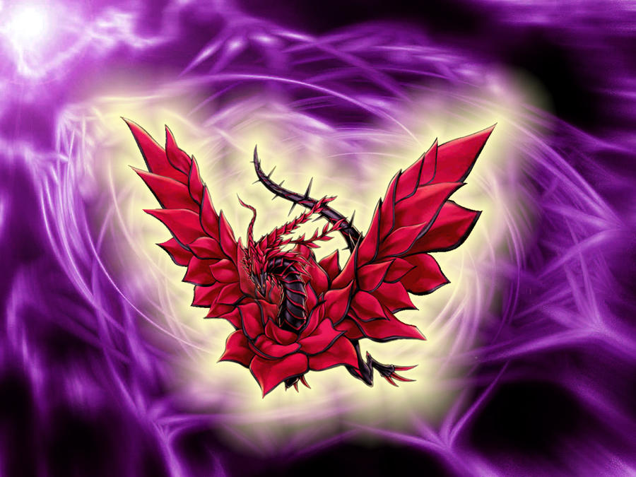 Download Black Rose Dragon wallpapers to your cell phone - anime ...