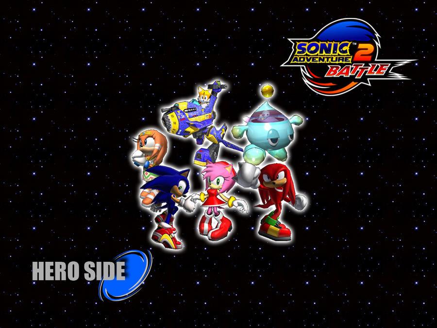 Sonic Adventure 2 Wallpaper - Hero Side by Hynotama on DeviantArt