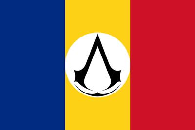 Romanian Revolution 1989 - Assassin Flag by Hynotama