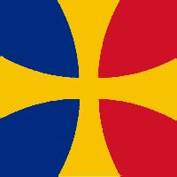 Romanian Templar Flag by Hynotama