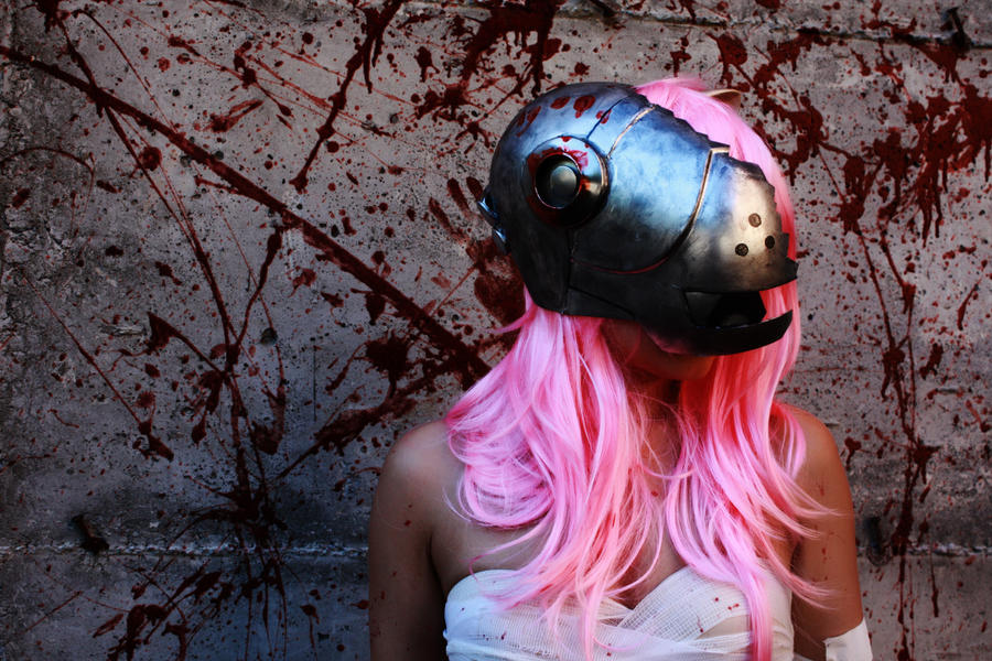 elfen lied helmet lucy - photo #14