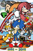 Sonic 20th by Toug-2000