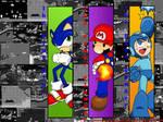 Gaming Icons Wallpaper