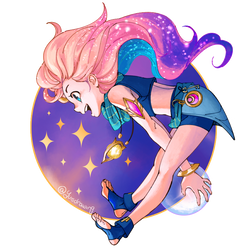 Zoe - League of Legends (PNG) by TheodoreConH