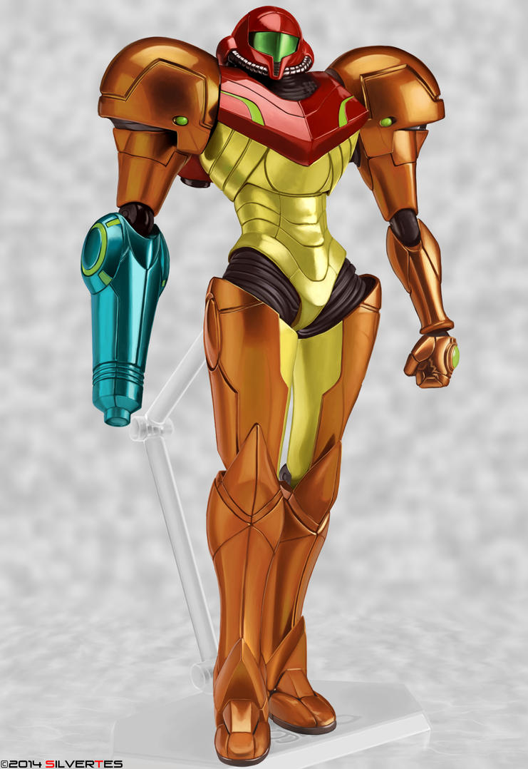 --- SilverTES Gallery --- Samus_armor_by_silvertes-d7eomsp