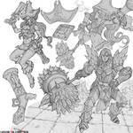 league of legends : sketch study