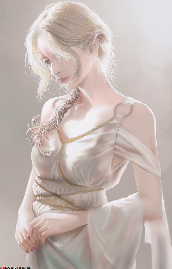 Luminous Lady by SilverTES