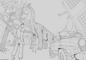Brachiosaurus Wip