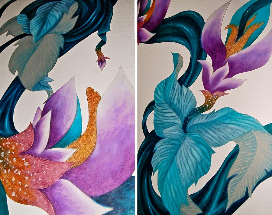 Silk Flowers Details by MachineGun-Baby