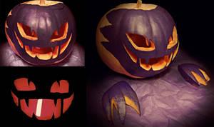 Haunter Pumpkin by MOONBTCH