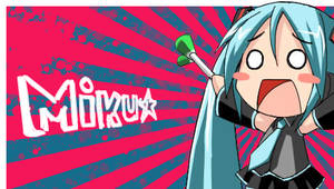 PSP wallpaper - miku