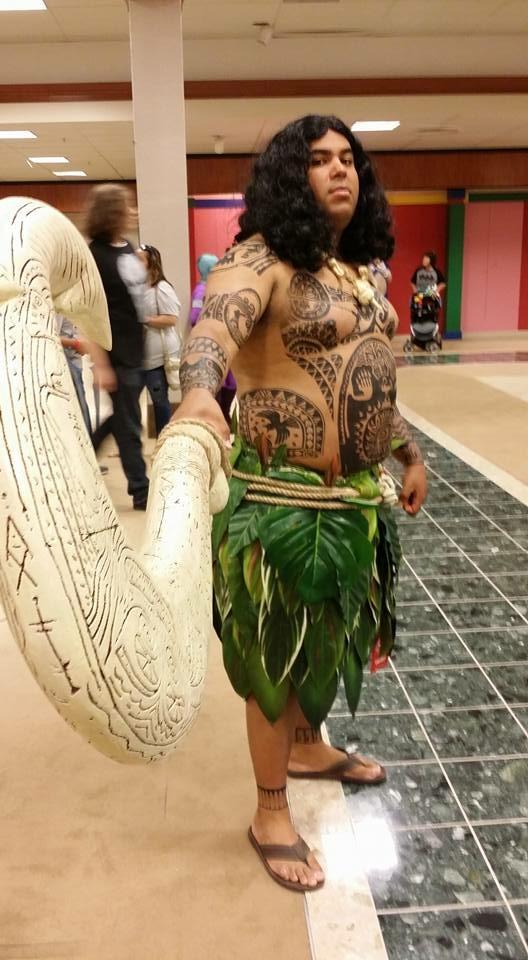 Maui cosplay 2