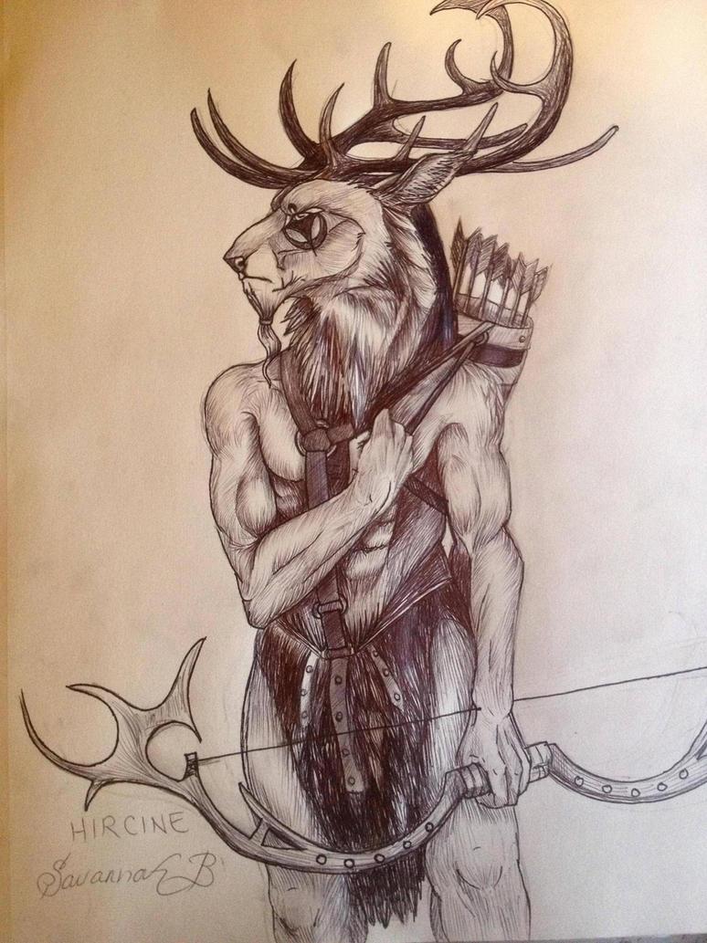 The Daedric Prince Series: Hircine by savannahrcb