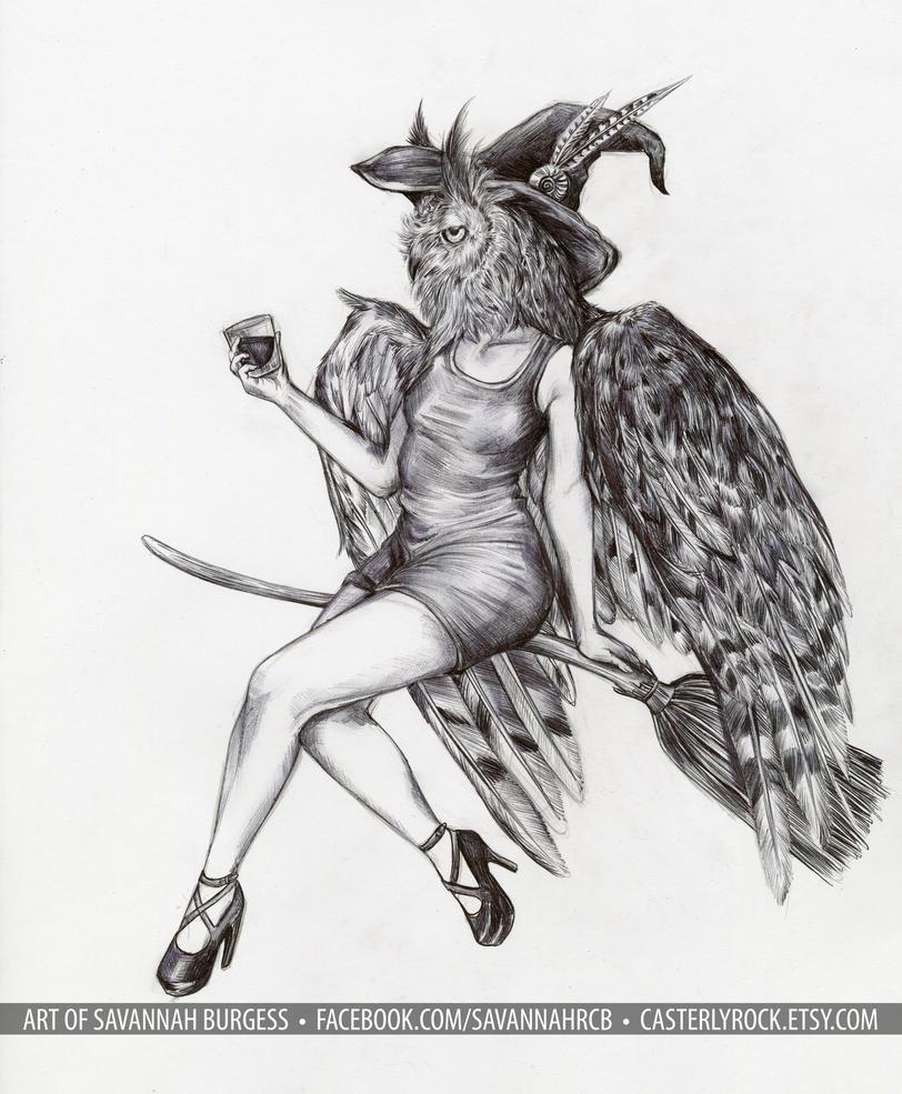 owlgirl 2 by savannahrcb