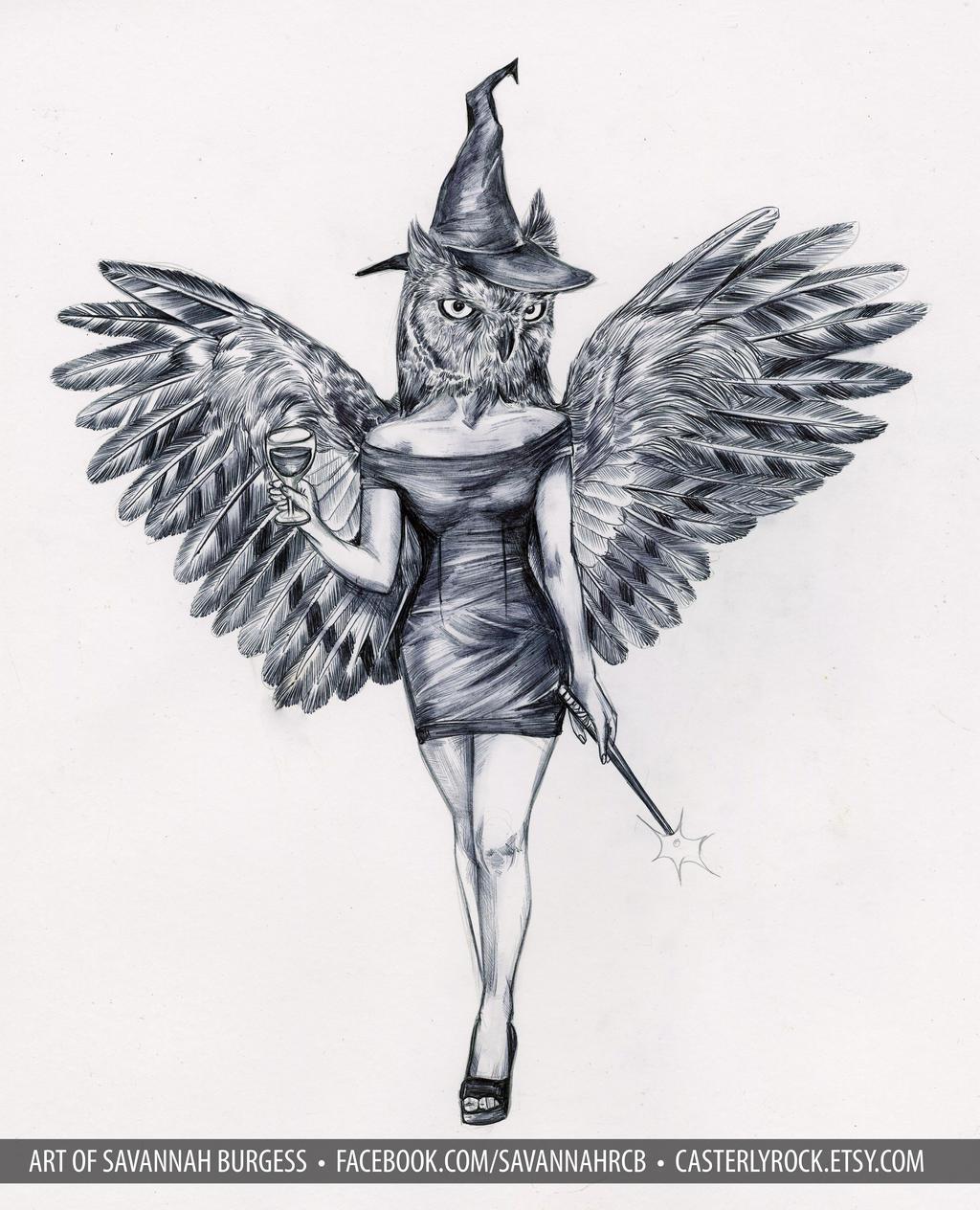 owlgirl 3 by savannahrcb