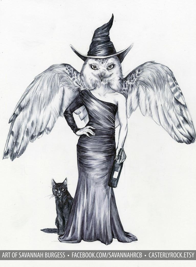 owlgirl 4 by savannahrcb
